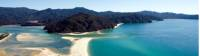 Aerial views of Awaroa Bay |  <i>www.nelsontasman.nz</i>