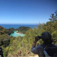 It's time to stop and capture one of the many views from the Abel Tasman track | Janet Oldham