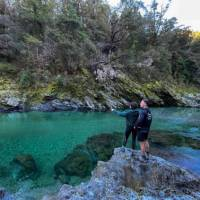 The Emerald Pools on the Pelorus River live up to their name   Jo Peachey