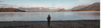 A hiker takes in the lake views in Fiordland National Park. |  <i>Jade Stephens</i>