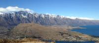 Sweeping views across Lake Wakatipu and the Remarkables from Queenstown Hill | Janet Oldham