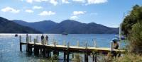 Meet the boat at the end of each day's walk at the designated jetty in the Marlborough Sounds | Kaye Wilson