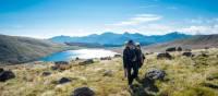 Walking amongst stunning lake views in the Kahurangi National Park