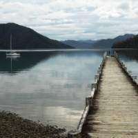 The Nydia Bay Jetty almost looks like a scene straight out of a movie   Janet Oldham