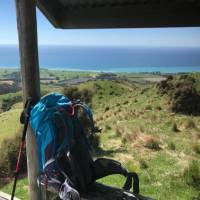 Time to put the pack down and simply admire the view from Skull Peak shelter   Janet Oldham
