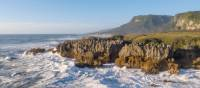 The rugged and wild coastline of the West Coast
