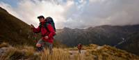 Walkers taking off on remote Canterbury trails   Julian Apse